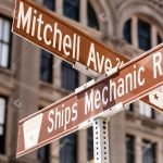 Street Signs Galveston Texas